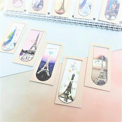 Combo 5Bookmark Nam Châm Đánh Dấu Sách - Tháp Eiffel (Mẫu Ngẫu Nhiên)