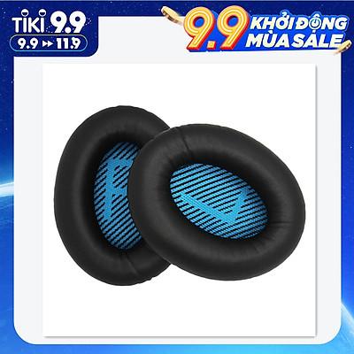 Miếng Đệm Tai Thay Thế Cho Tai Nghe Bose Qc15 Qc25 Qc35 - Đen & Xanh