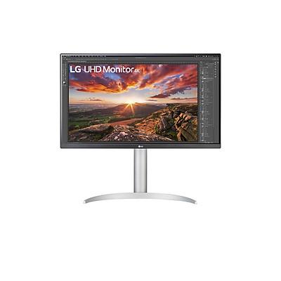 Màn hình  -máy tính LG UHD 4K 27'' IPS VESA DisplayHDR 400 USB Type-C Chân đế linh hoạt 27UP850-W - Hàng chính hãng