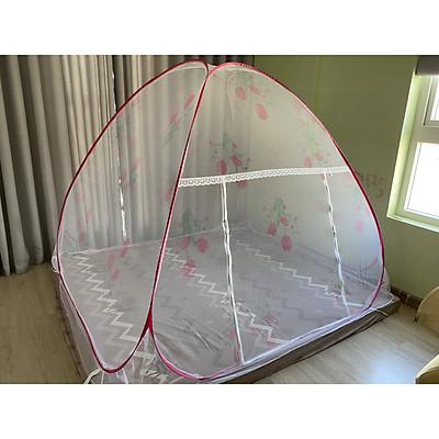 Màn/Mùng Chống Muỗi/Mùng Chụp/Màn Chụp Tự Bung Không Đáy Chống Muỗi Cao Cấp Thương Hiệu FUNU - Hàng Chính Hãng (Sản Xuất 100% Tại Việt Nam)