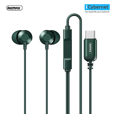 Tai nghe có dây chân TypeC Remax RM512a - Hàng chính hãng
