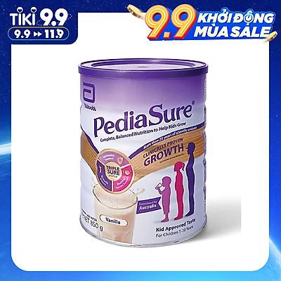 Sữa bột PediaSure Complete Balandced Nutrition (850g) cho trẻ từ 1 đến 10 tuổi - Nhập khẩu Australia