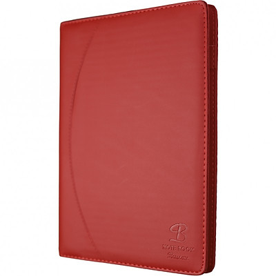 Sổ da 200 trang A4 Klong - TP655 màu đỏ