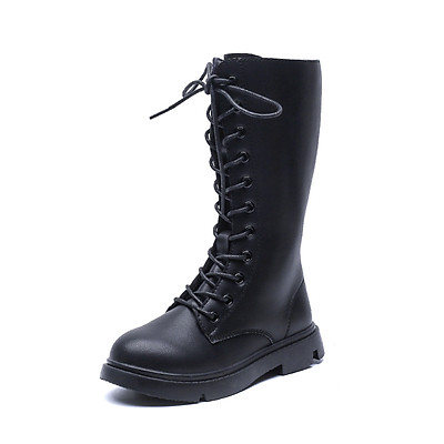 Giày boot cao cổ trẻ em nữ  Mã 7019
