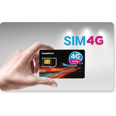 Sim 4G Vinaphone EzCom120Plus, 60GB/1 tháng, 720GB/1 năm, Trọn Gói 12 Tháng Không Nạp Tiền, Hàng Chính Hãng