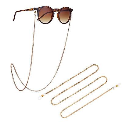 Simple Screw Glasses Chain Square Buckles Anti-falling Sunglasses Eyeglass Cord