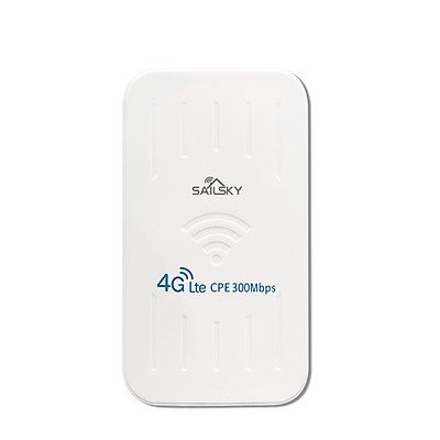 Sailsky XM206 4G Router 300Mbps LTE Outdoor Waterproof Router CPE Portable Mobile WiFi with SIM Card Slot EU Version