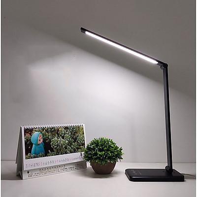 Đèn Bàn Học Đọc Sách, Làm Việc (Học Sinh, Sinh Viên, Văn Phòng) LED Chống Cận, Cảm Ứng Nhôm Cao Cấp eLights TD-621