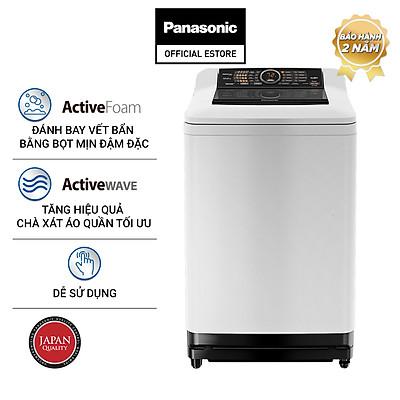 [Chỉ Giao Tại HCM] - Máy Giặt Cửa Trên Panasonic 10 Kg NA-F100A4GRV - Hàng Chính Hãng