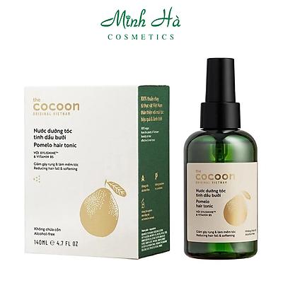 Nước dưỡng tóc tinh dầu bưởi Cocoon Pomelo hair tonic 140ml giúp giảm gãy rụng tóc