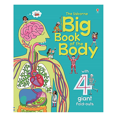 Sách tiếng Anh - Usborne Big Book of the Body