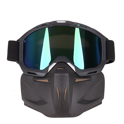 Motorcycle Racing Goggles Retro Bike Off-road Tactical Goggles Outdoor Sports Anti-sand Goggles Frame