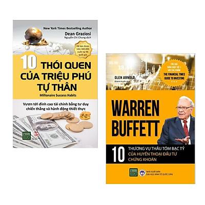 Combo: 10 Thói Quen Của Triệu Phú Tự Thân + Warren Buffett - 10 Thương Vụ Thâu Tóm Bạc Tỷ Của Huyền Thoại Đầu Tư Chứng Khoán