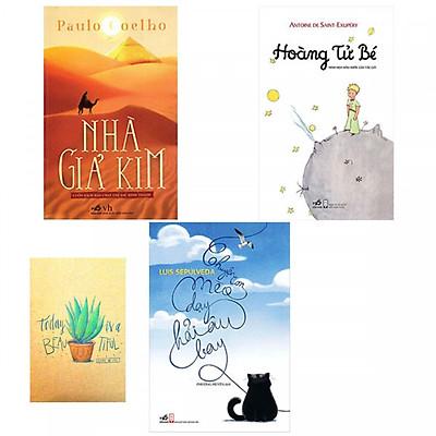 Combo Nhà Giả Kim, Chuyện Con Mèo Dạy Hải Âu Bay và Hoàng Tử Bé ( Tặng Kèm Sổ Tay)