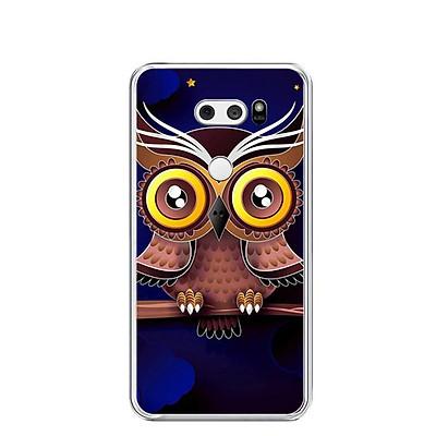 Ốp lưng dẻo cho điện thoại LG V30 - 0169 GLOSBE - Hàng Chính Hãng