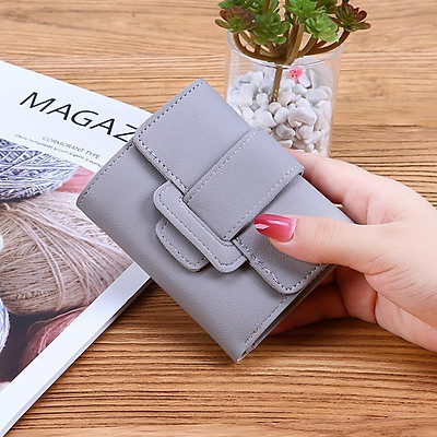 Ví bóp nữ    Ví nữ cao cấp cầm tay mini thời trang nhỏ gọn nhiều ngăn đẹp giá rẻ Micloset - V05311