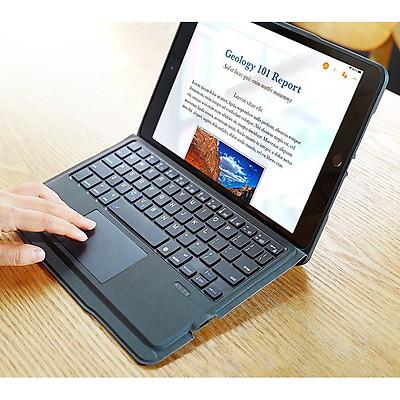 Bao da iPad 10.2 inch kèm bàn phím bluetooth có bàn di chuột Magic Keyboard TouchPad chính hãng Ducis
