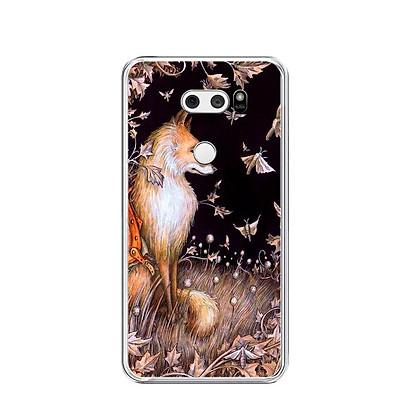 Ốp lưng dẻo cho điện thoại LG V30 - 0413 FOX06 - Hàng Chính Hãng