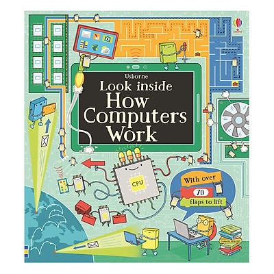 Sách tương tác tiếng Anh - Usborne Look inside How computers work