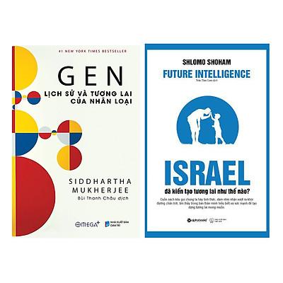Combo Sách : GEN Lịch Sử Và Tương Lai Của Nhân Loại +  Israel Đã Kiến Tạo Tương Lai Như Thế Nào?