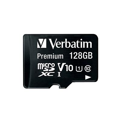 Thẻ nhớ Verbatim Micro SDXC 128GB Class 10 UHS-I - Hàng chính hãng