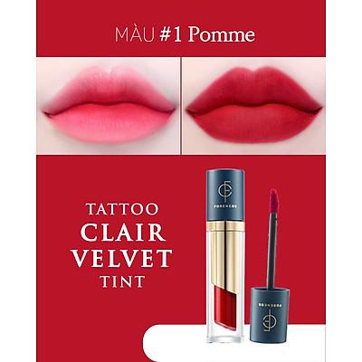 Son Kem Lì FORENCOS Tatto CLAIR Velvet Tint - Hàng Chuẩn full 21 màu