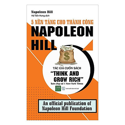 Sách - 5 Nền Tảng Cho Thành Công - Napoleon Hill (Xả Kho)