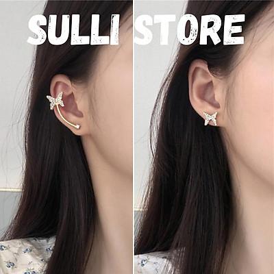 Khuyên tai nữ Bướm kẹp vành Sulli store