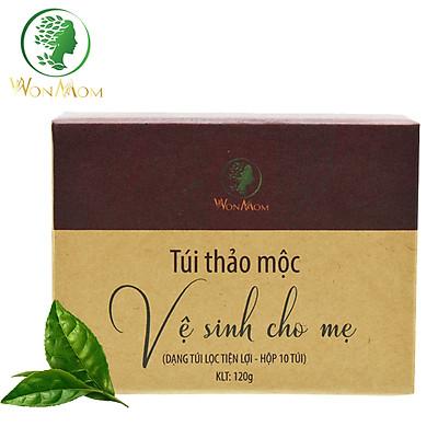 Túi Thảo Mộc Xông Vùng Kín Thơm Tho Cho Mẹ Bầu & Sau Sinh Wonmom ( 10 Túi/Hộp )
