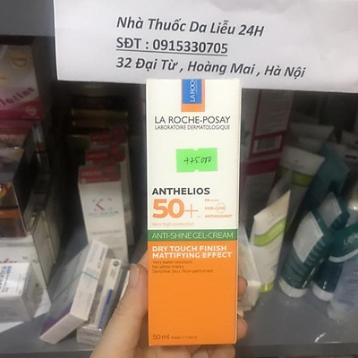 Kem Chống Nắng LA ROCHE POSAY Anthelios XL Dry Touch Gel-Cream SPF 50+ 50ml