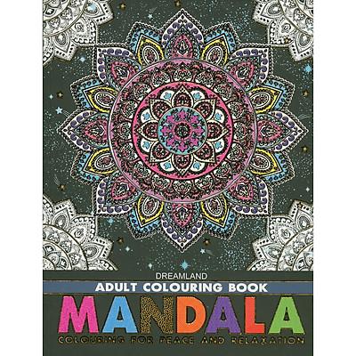 Sách Tô Màu Người Lớn - HOA VĂN, HỌA TIẾT KỸ THUẬT: Tô Màu Cho Cuộc Sống Bình Yên Và Thư Giãn (Adult Colouring Book - Mandala: Colouring For Peace And Relaxation)