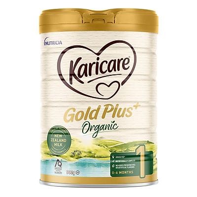 Sữa bột Karicare Organic gold plus ÚC số 1 hộp 900g ( Dành cho trẻ 0 - 6 tháng tuổi)