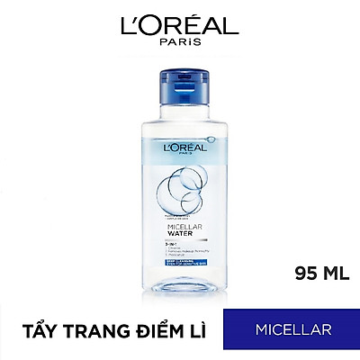 Nước Tẩy Trang L'Oreal 3 In 1 Micellar Làm Sạch Sâu (95ml)