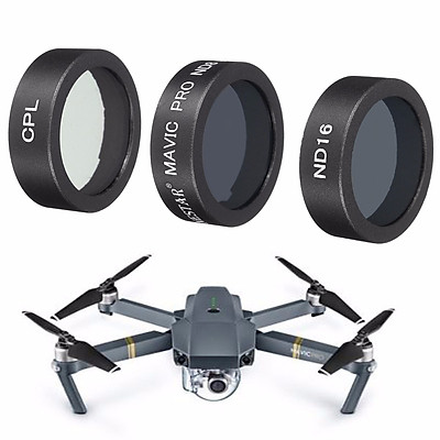 3 Pack CPL ND8 ND16 ND Polarizer Camera Lens Filter With Box For DJI Mavic Pro