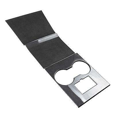 For Model 3 / Y Central Control Panel Decoration Pastes The Carbon Fiber Non-slip Scratch-resistant Interior Protector