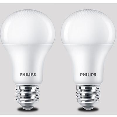Bộ 2 Bóng Đèn Philips MyCare LED 12W E27 6500K 2C-929001916337 - Ánh sáng trắng