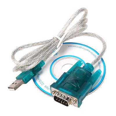 Bộ Chuyển Đổi Cáp USB Sang RS232 Serial 9pin DB9 PC Pda GPS