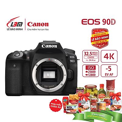 Máy ảnh Canon EOS 90D BODY - Hàng Chính Hãng Lê Bảo Minh