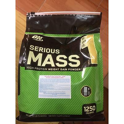 Sữa tăng cân ON Serious Mass 12 LB-5,44 KG