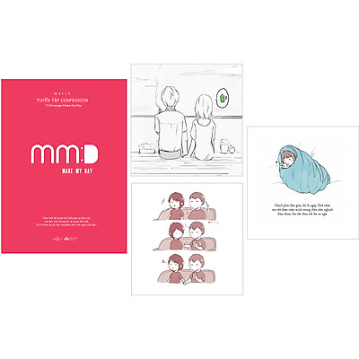 Make My Day – Tuyển Tập ConfessionTừ Fanpage Make My Day (Tặng Kèm: 3 Postcard)