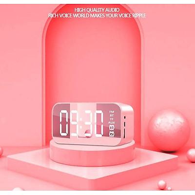 Wifi Mini Alarm Clock Nanny Clock Mirror Subwoofer Bluetooth Speaker