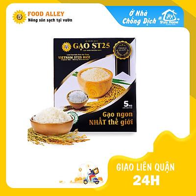 [Chỉ giao HN] Gạo ST25 đặc biệt hộp 5kg