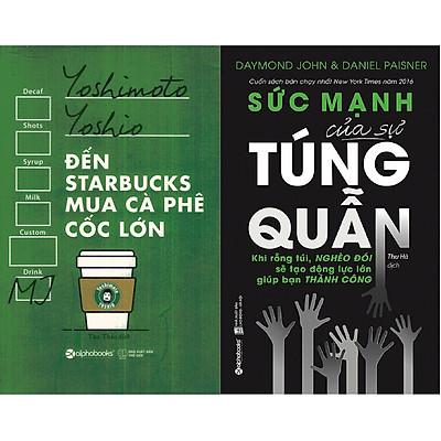 Combo Sách Cách Quản Lý Tài Chính Và Chi Tiêu Hợp Lý ( Đến Starbucks Mua Cà Phê Cốc Lớn + Sức Mạnh Của Sự Túng Quẫn ) (Tặng Notebook tự thiết kế)