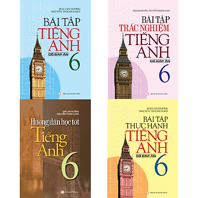 Combo Bài Tập Tiếng Anh 6 Có Đáp Án - Mai Lan Hương