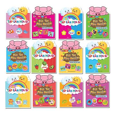 Sách Tô Màu Bé Tập Làm Họa Sĩ Chủ Đề: Trái cây Vườn nhà, Đồ Dùng Của Bé, Những Đóa Hoa Rực Rỡ, Bé Tô Màu Động Vật Dưới Nước, Động Vạt Trên Cạn, Nghề Nhiệp, Bé Tô Màu Phương Tiện Giao Thông, Tô Màu Khủng Long, Côn Trùng, Pokemon, Nhân Vật Hoạt Hình