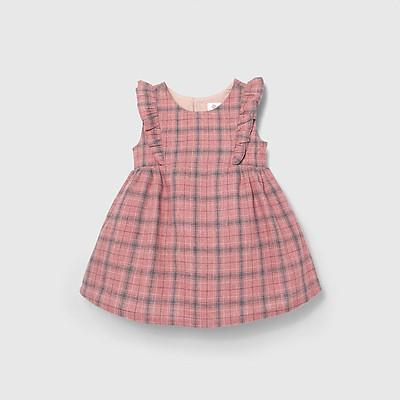 Đầm váy xòe BAA BABY bèo nhún ngực cho bé gái - GT-AD03C