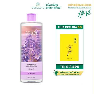Nước Cân Bằng Da, Kiềm Dầu Derladie Lavender Natural Moisture Toner 500ml