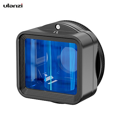 Ulanzi 1.55XT Mobile Phone Anamorphic Movie Lens 2.8:1 Wide Frame 17mm Lens Interface with Universal Phone Clips 52mm