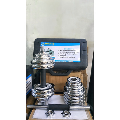 Tạ tay tháo lắp BOFIT (Bộ 30kg)