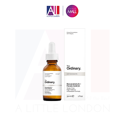 Tinh chất dưỡng The Ordinary Resveratrol 3% Ferulic Acid 3% - 30ml